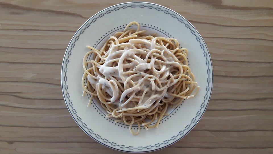 Συνταγή για Μακαρονάδα-κόλαση με σάλτσα 4 τυριά