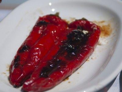 Συνταγή για Πιπεριές γεμιστές με φέτα πικάντικες