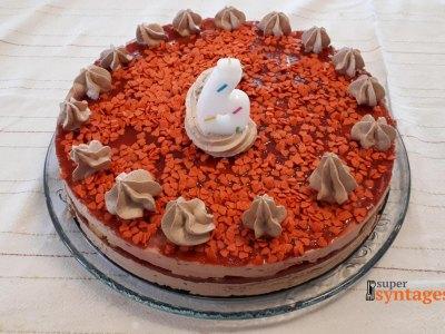 Τούρτα φράουλα, φανταστική συνταγή για σούπερ γενέθλια!
