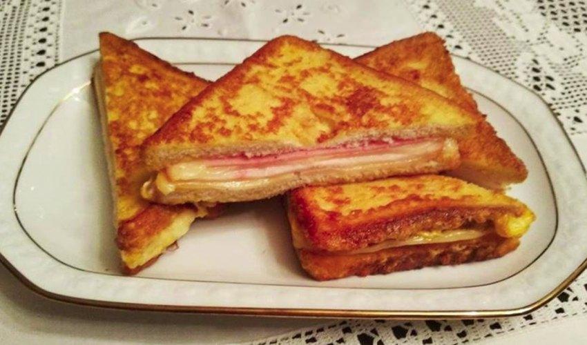 Αυγόφετες γεμιστές με αλλαντικά και τυρί, όνειρο!