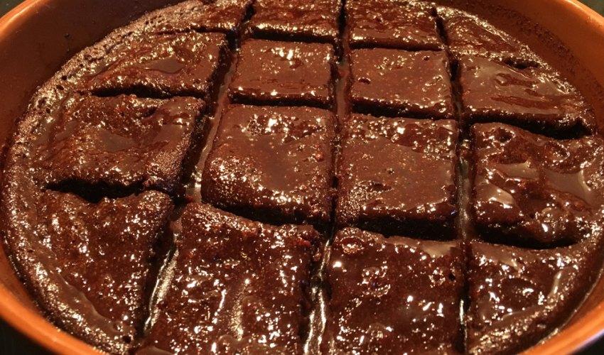 Εύκολη σοκολατόπιτα, σκέτη κόλαση!